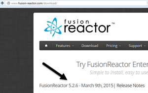 How to update FusionReactor